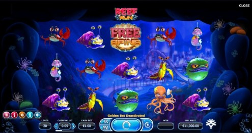 Reef Run slot game review