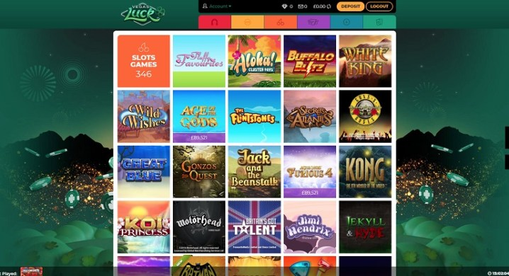Vegas Luck online casino review