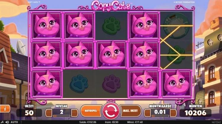 Copycats netent slots