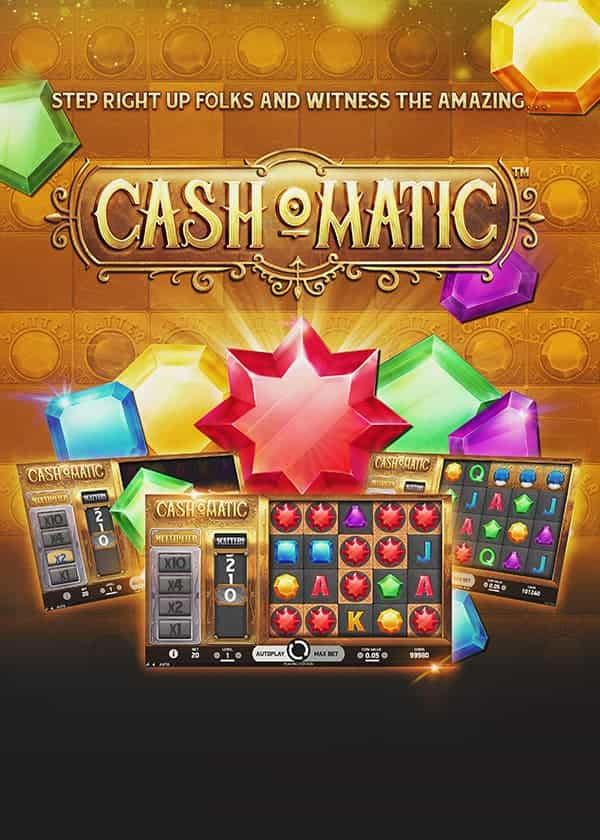 Cash-o-Matic Best Netent Slots