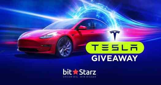 Tesla Giveaway - Bitstarz - www.casinodreamz.com