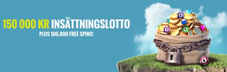 Thrills Casino insättningslottos