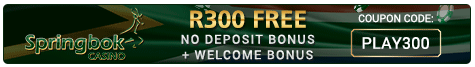 South African Online Casino - Play @ Springbok casino and get a R100 free