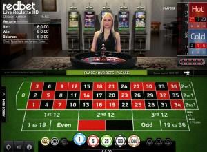 live casino ruletti