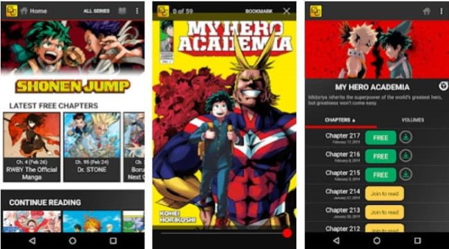 8 Popular Manga Apps to download on Android