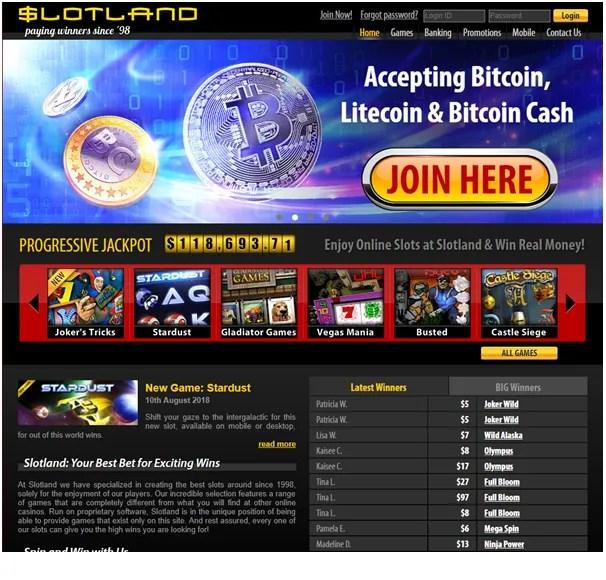 Slotland casino USA