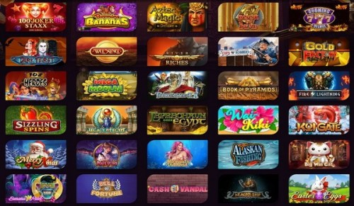 Thematic online slots Canada