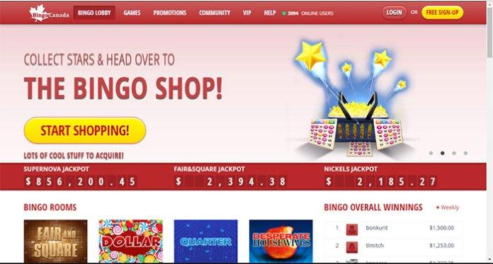 BingoCanada.net Warning