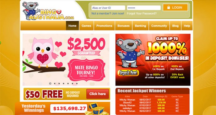 Avoid BingoAustralia.com at this time