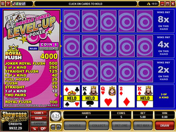 Double Joker Poker Video Poker Game