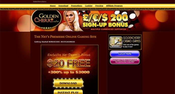Golden Cherry Casino - Resolved