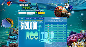 Intertops Casino's $120K Reef Trip Ocean Adventure Promotion Event