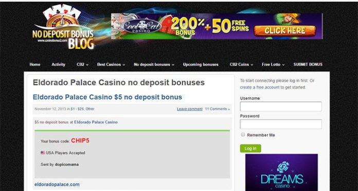 El Dorado Palace Casino - Unresolved - Blacklisted
