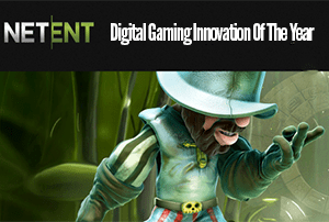 NetEnt Awarded Digital Gaming Innovation of the Year G2E
