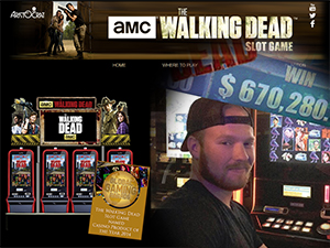 Walking Dead Slot Game Pays Out $670K in Vegas