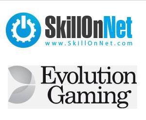 SkillOnNet, Evolution Gaming Team for Live Casino Deal