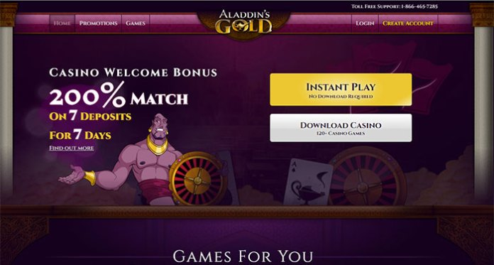 Aladdin's Gold Casino Dispute - Resolved