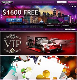 Jackpot City Casino, $1600 FREE Over Four Deposits