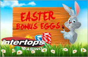 Easter Egg Bonus, Intertops 50% up to $100 on All Deposits