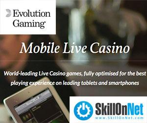 Evolution Mobile Casino, SkillOnNet Signs New Deal