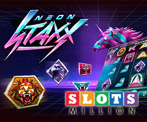 Slots Million 100 Free Spins + 800€ Welcome Package