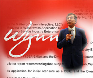 After Approval, Wynn Withdraws Online Gambling Licensing