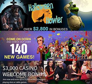 New Games at Slots.lv, Big $73K Win at Bovada Casino
