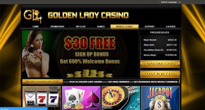 Golden Lady Casino Complaint