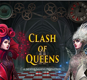 Witness Clash of the Queens™ Slot from Genesis Gaming