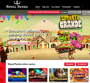 Arriba, Arriba! Spiñata Grande Winner at Royal Panda Casino