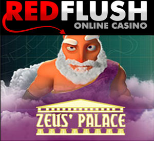 Savour The Sweet Taste of Zeus' Palace at Red Flush Casino