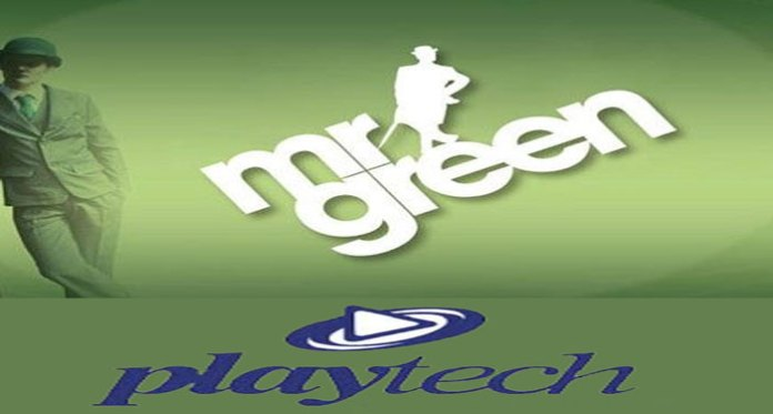 Mr Green Goes Live with Playtech Open Platform