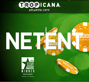 NetEnt Goes Live in Tropicana Online Casino, NJ USA