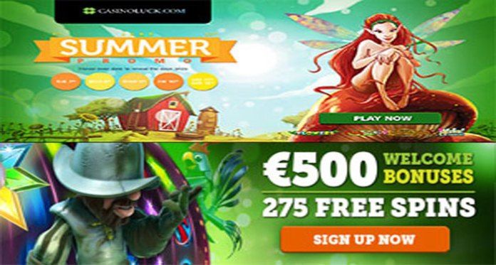 CasinoLuck's Summer Promotion, Free Spins and Reload Bonuses