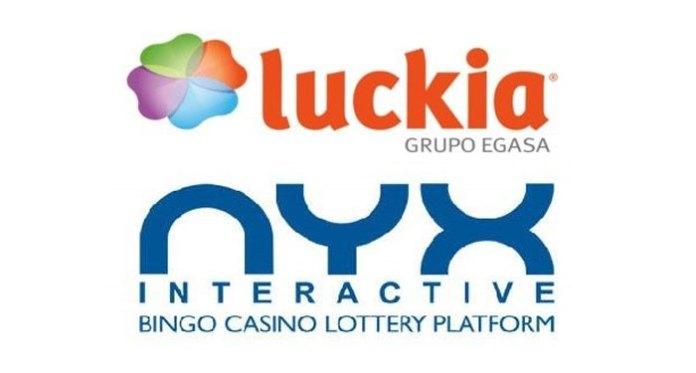 NYX Gaming and Luckia Gaming Group SA Partner