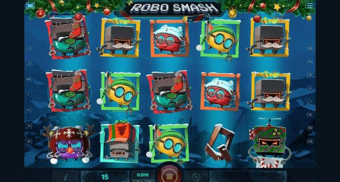 Robo Smash Christmas Edition Slot - iSoftbet
