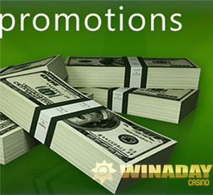 WinADay Casino's Christmas Freebies - $15 Free Chip for All Players