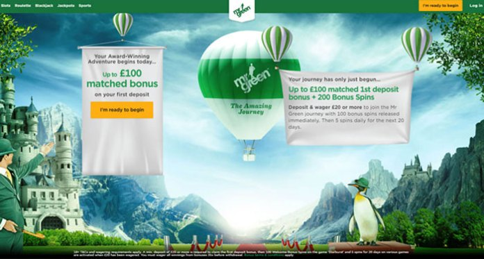 Join Mr Green and Ring in the New with €5,000 in Cash Prizes