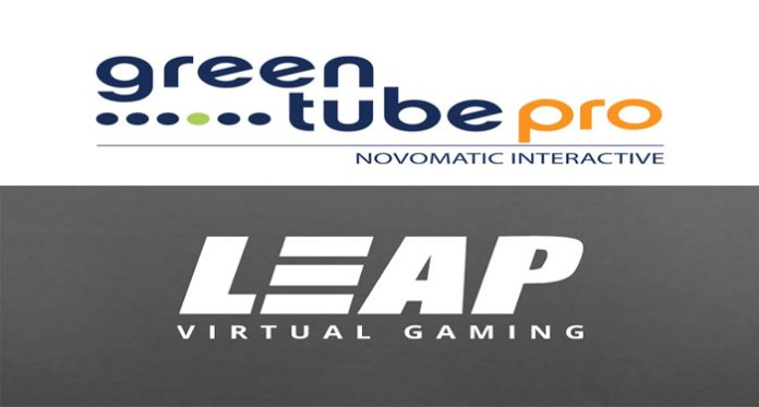 Greentube and Leap Gaming Virtual Sports Content Agreement