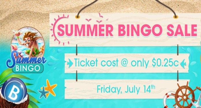Summer Bingo Sale this Friday at Downtown Bingo