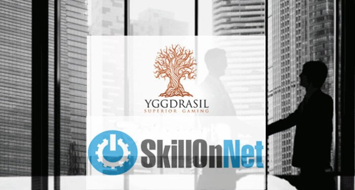 Yggdrasil Gaming Agreement Deal With SkillOnNet