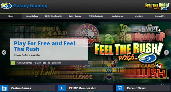 Las Vegas Developer Galaxy Gaming Receives Licensing Approval
