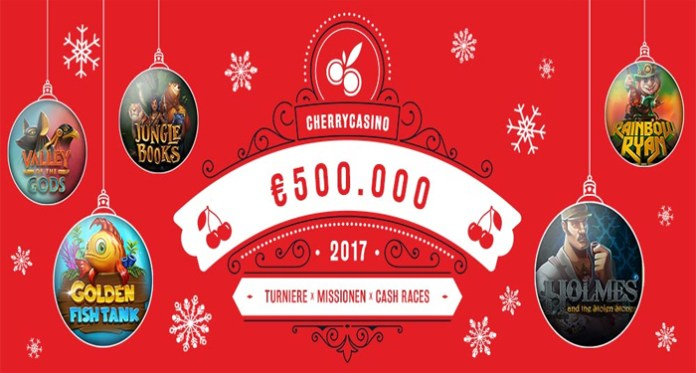 Play Cherry Casino's €500,000 Christmas Calendar