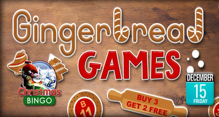 The Gingerbread Games Begins at Downtown Bingo