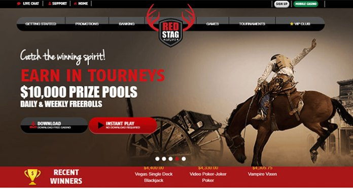Join in the End of 2017 $1500 FreeRoll Tournament at Red Stag Casino