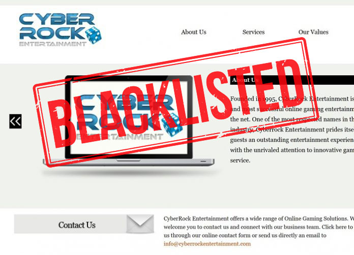 Cyberrock Entertainment Scam – Blacklisted