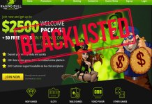 Raging Bull Casino is now Blacklisted