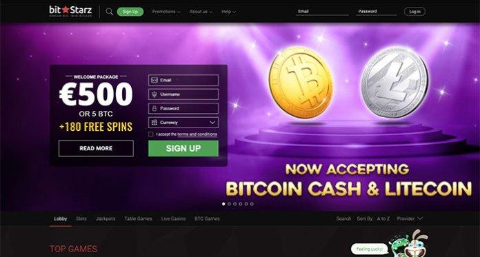 Bitstarz First Online Casino to Accept Bitcoin/Litecoin Cash