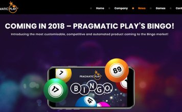 New Five Part Mobile Bingo Game from Pragmatic Play