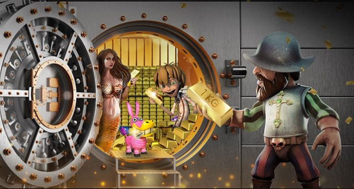 Win at Wild Slots Casino a 1KG Bar of Gold with the Slots Raffle